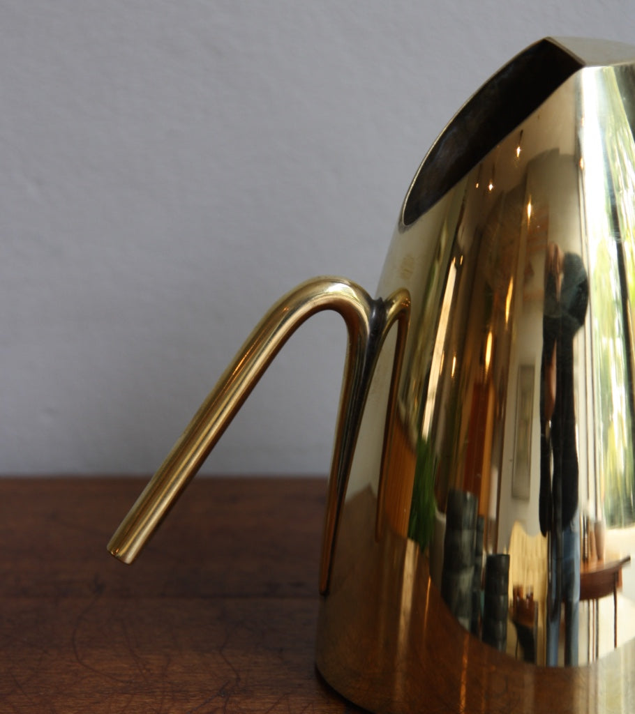 20th Century Polished Brass Watering Can Carl Auböck - Image 6