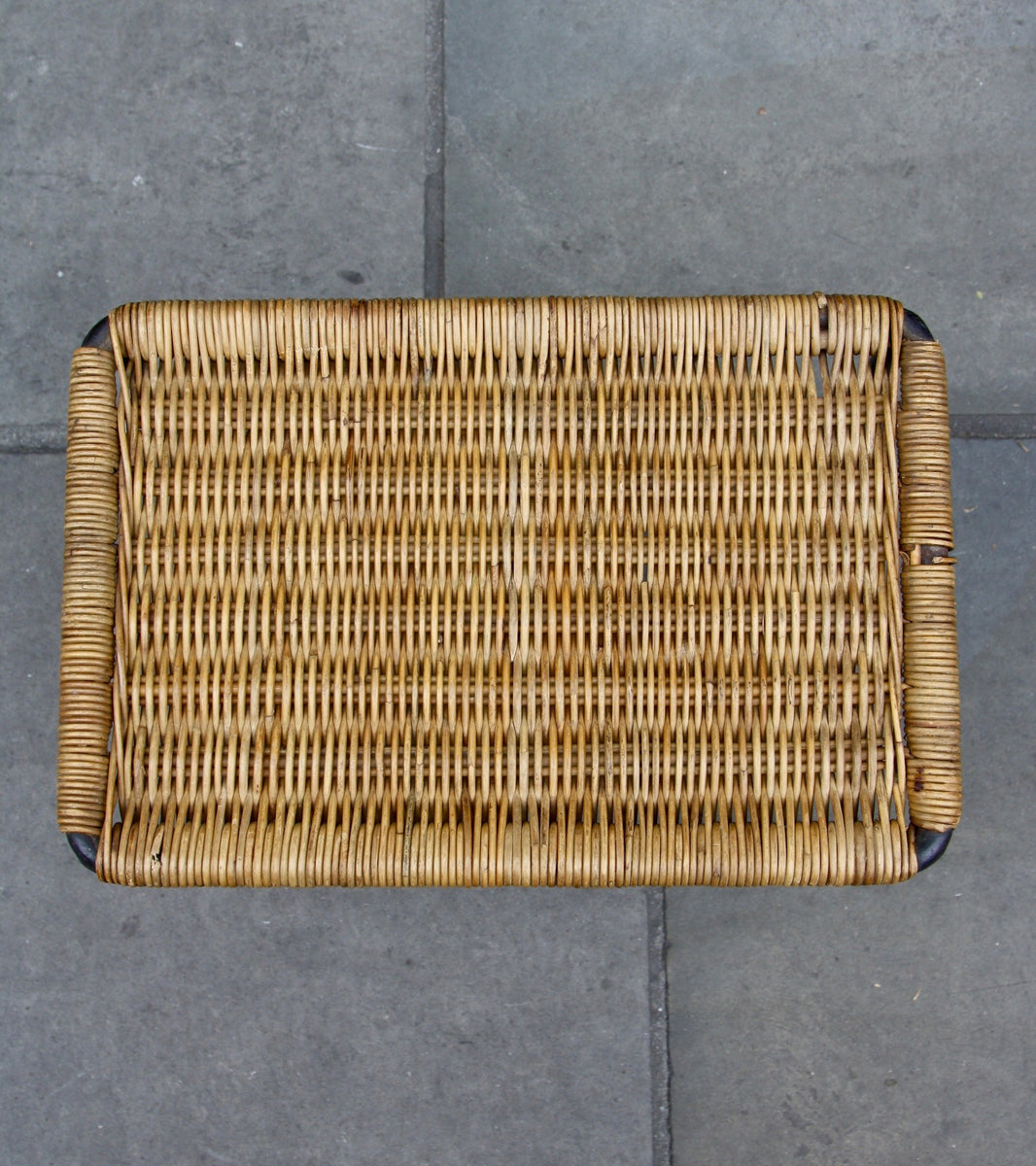 Rectangular Wicker Table Carl Auböck - Image 8