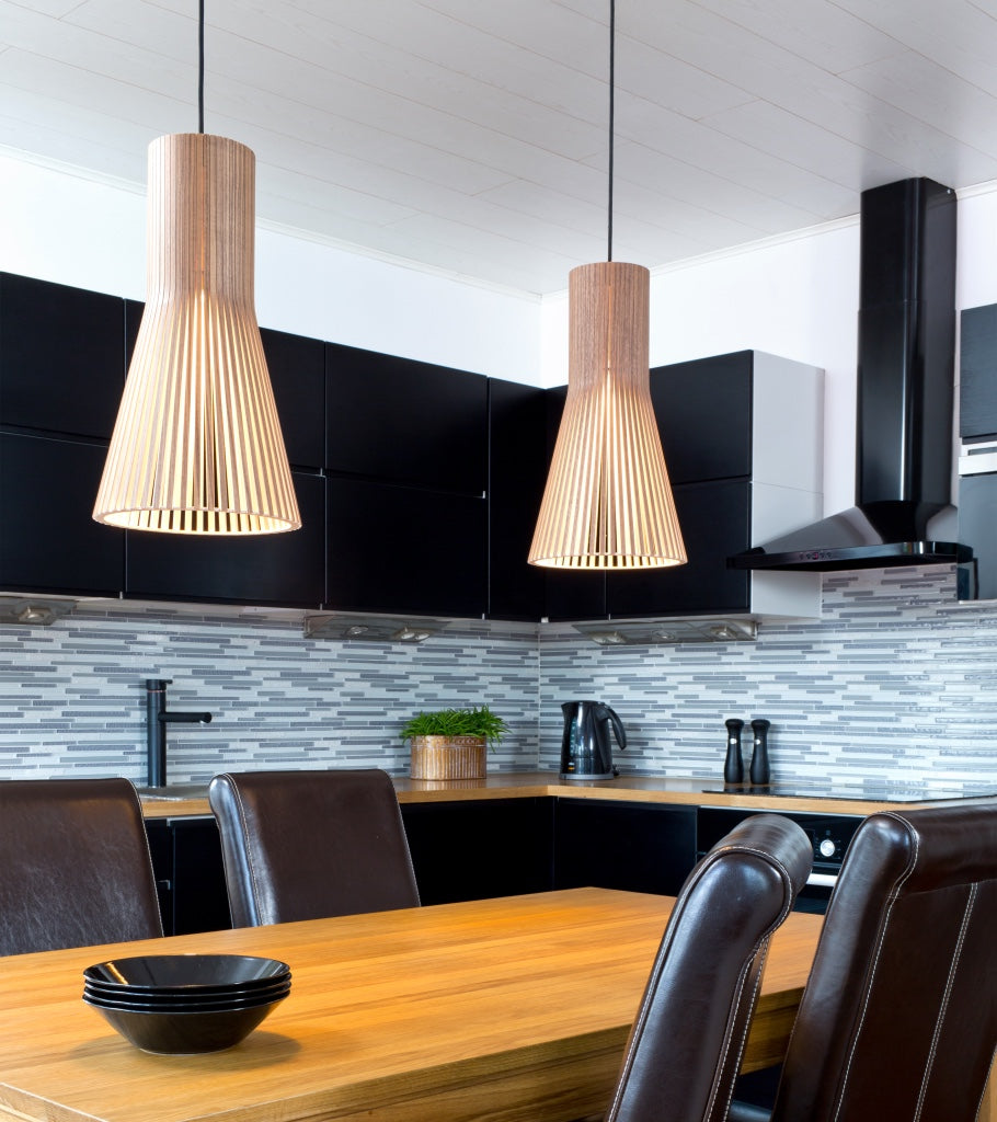 Residential lights Secto pendants 4201 Walnut Secto  2