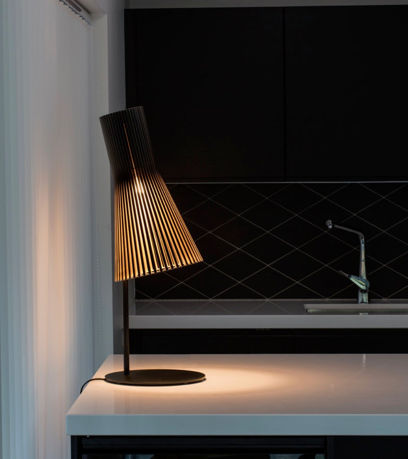 Finnish design Secto Table lighting 4220 Natural Black 7