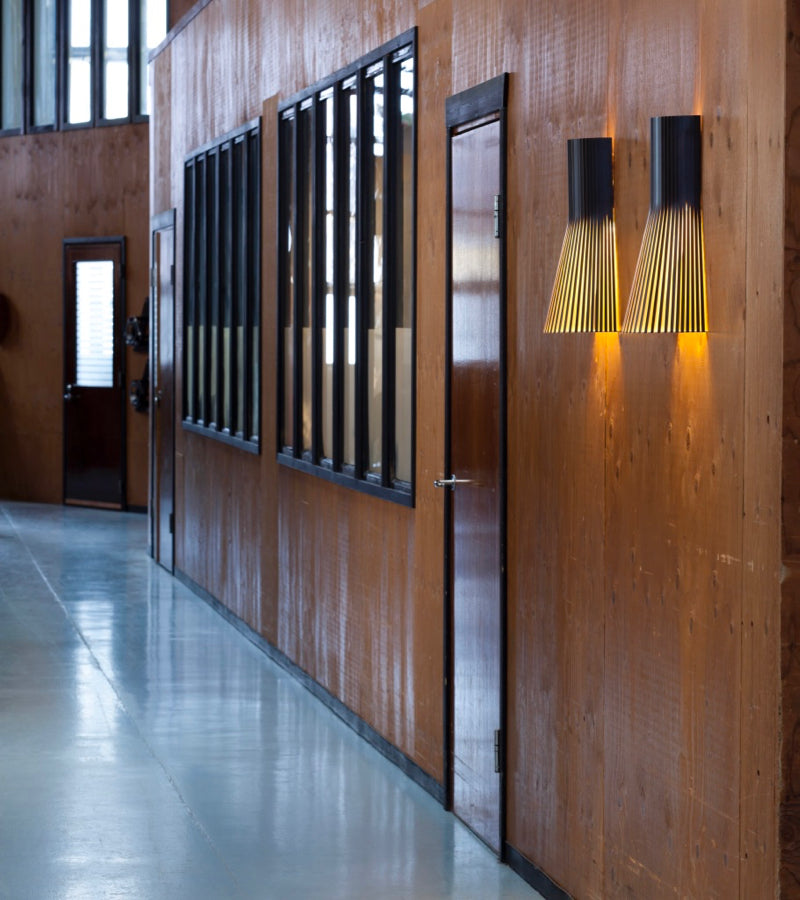Hallway Wall lights Secto 4231 Black 4