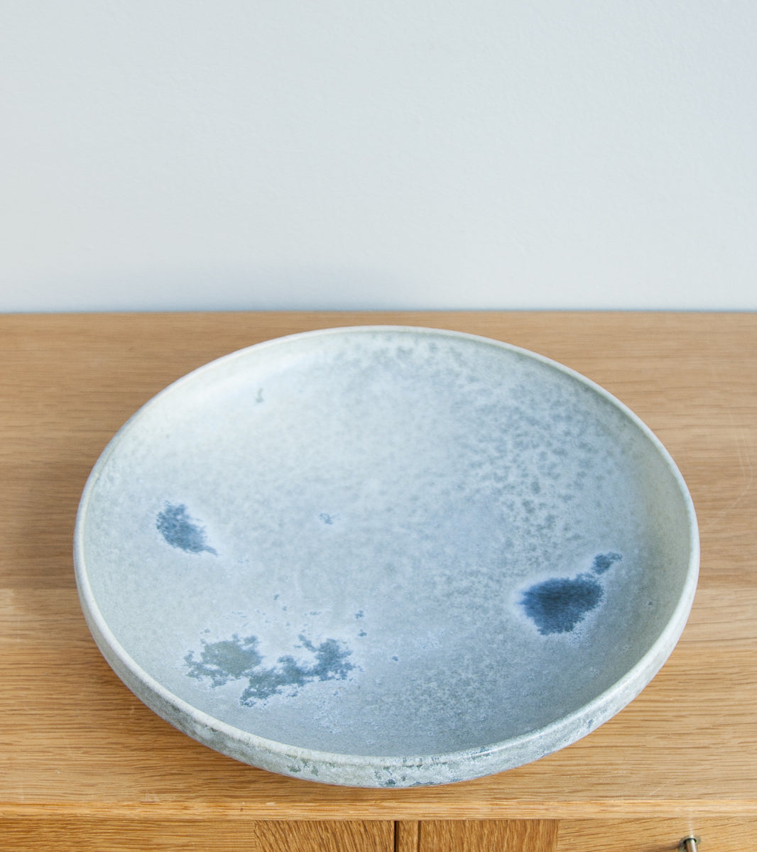 Serving Platter 15White & Soft Blue Glaze Kasper Würtz - Image 1