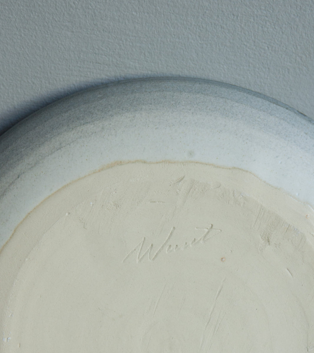 Serving Platter 15White & Soft Blue Glaze Kasper Würtz - Image 5