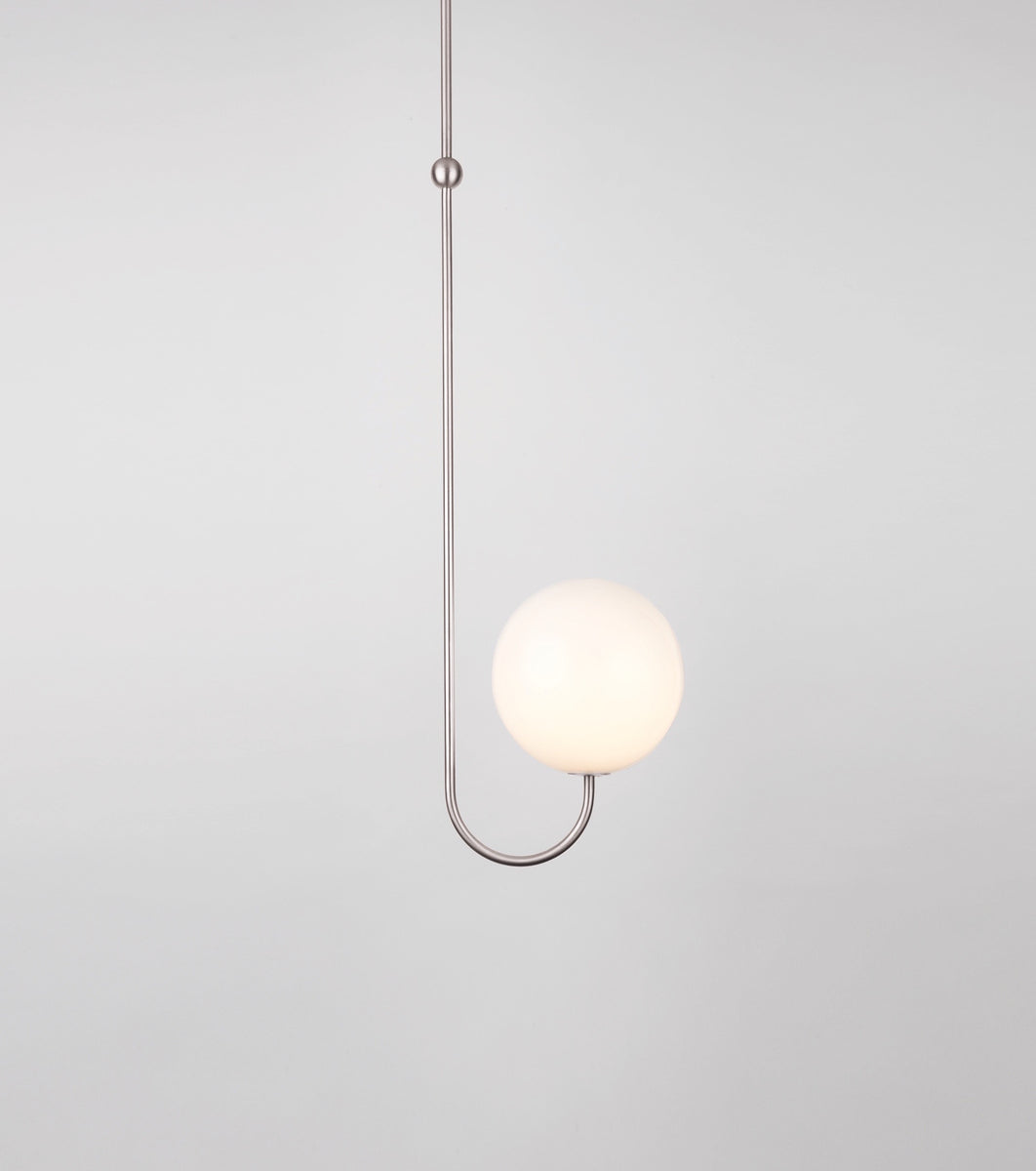 Single Angle Satin Nickel-plated Brass Michael Anastassiades - Image 1