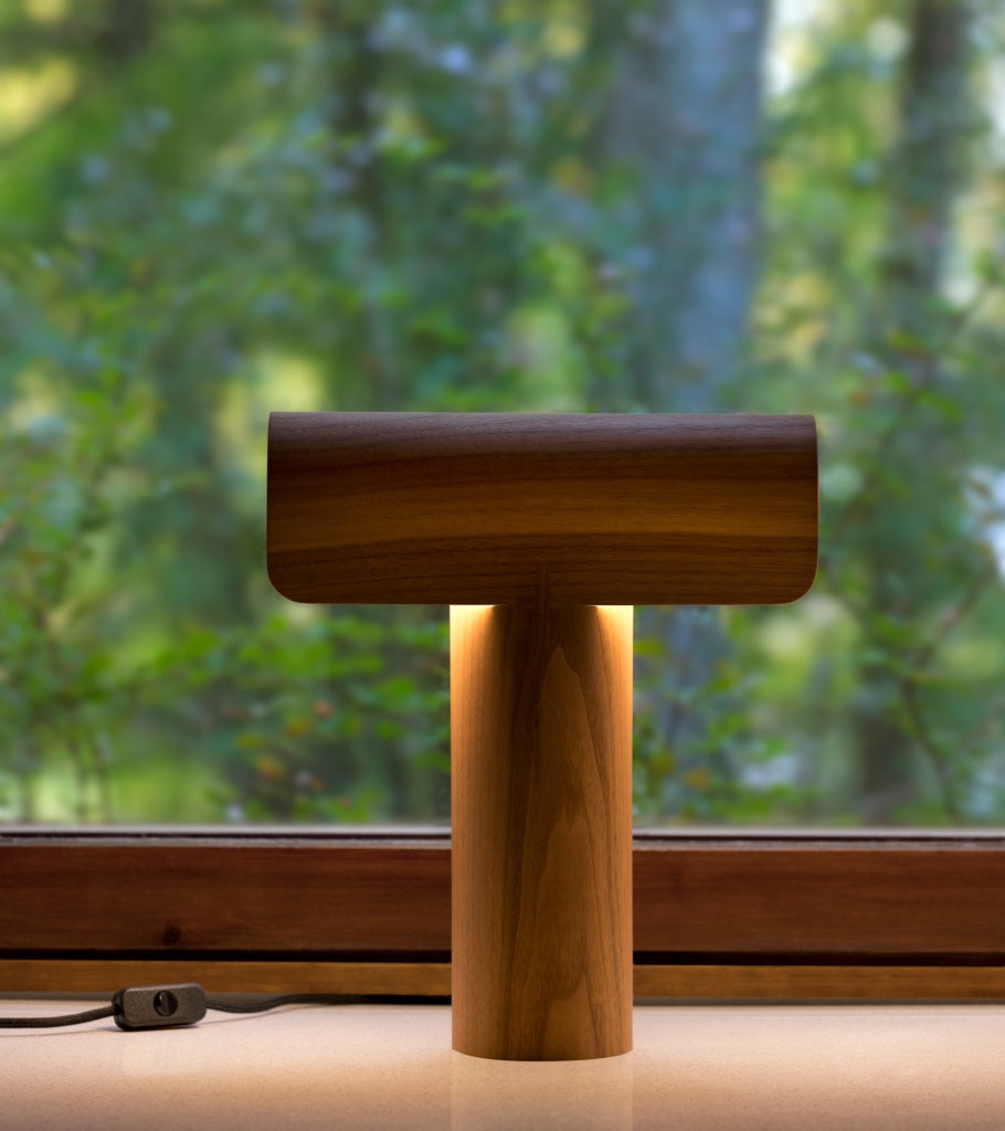 Natural Secto table lights Teelo 8020 Walnut 2
