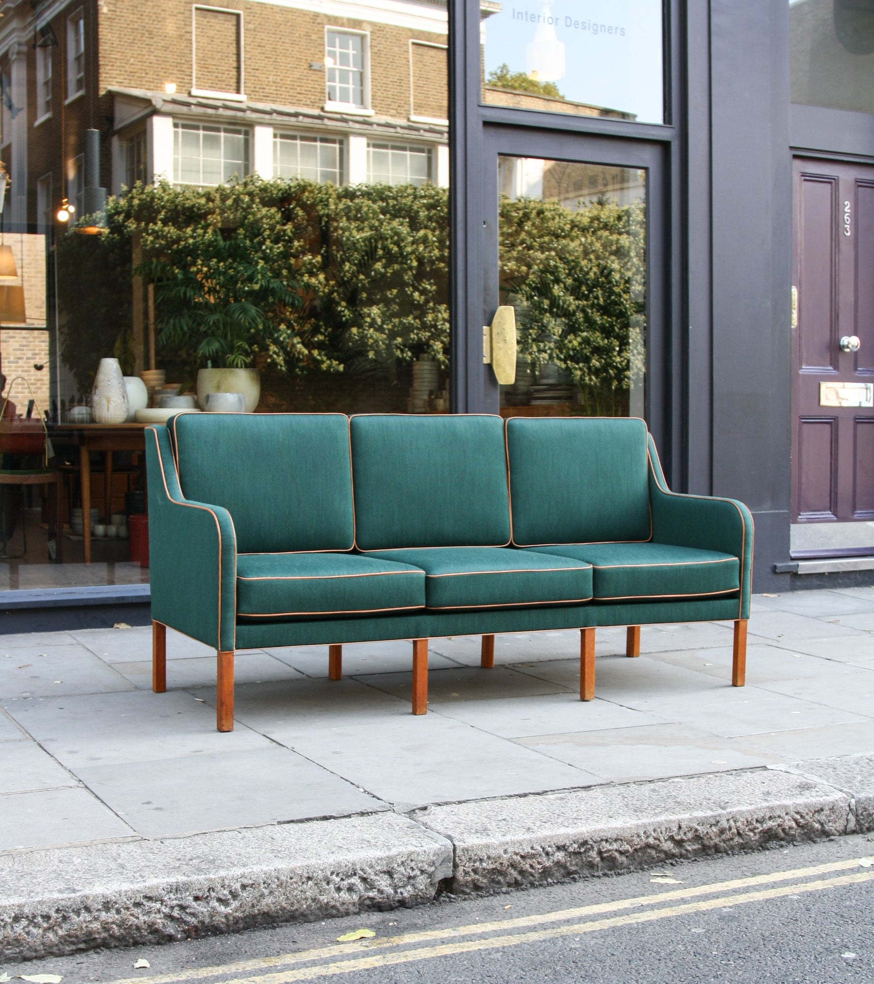 Three Seat Sofa Kaare Klint - Image 4