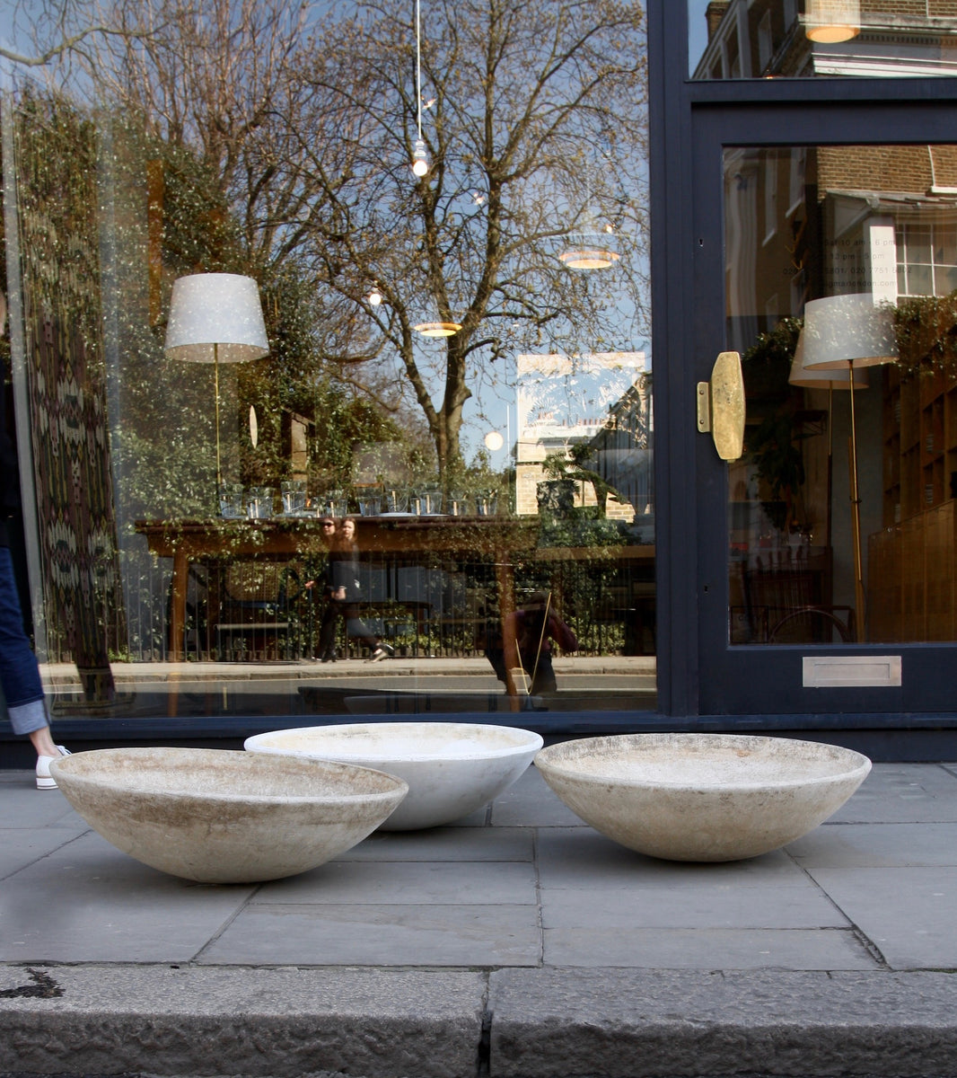 Trio of Modernist Planters Willy Guhl - Image 2