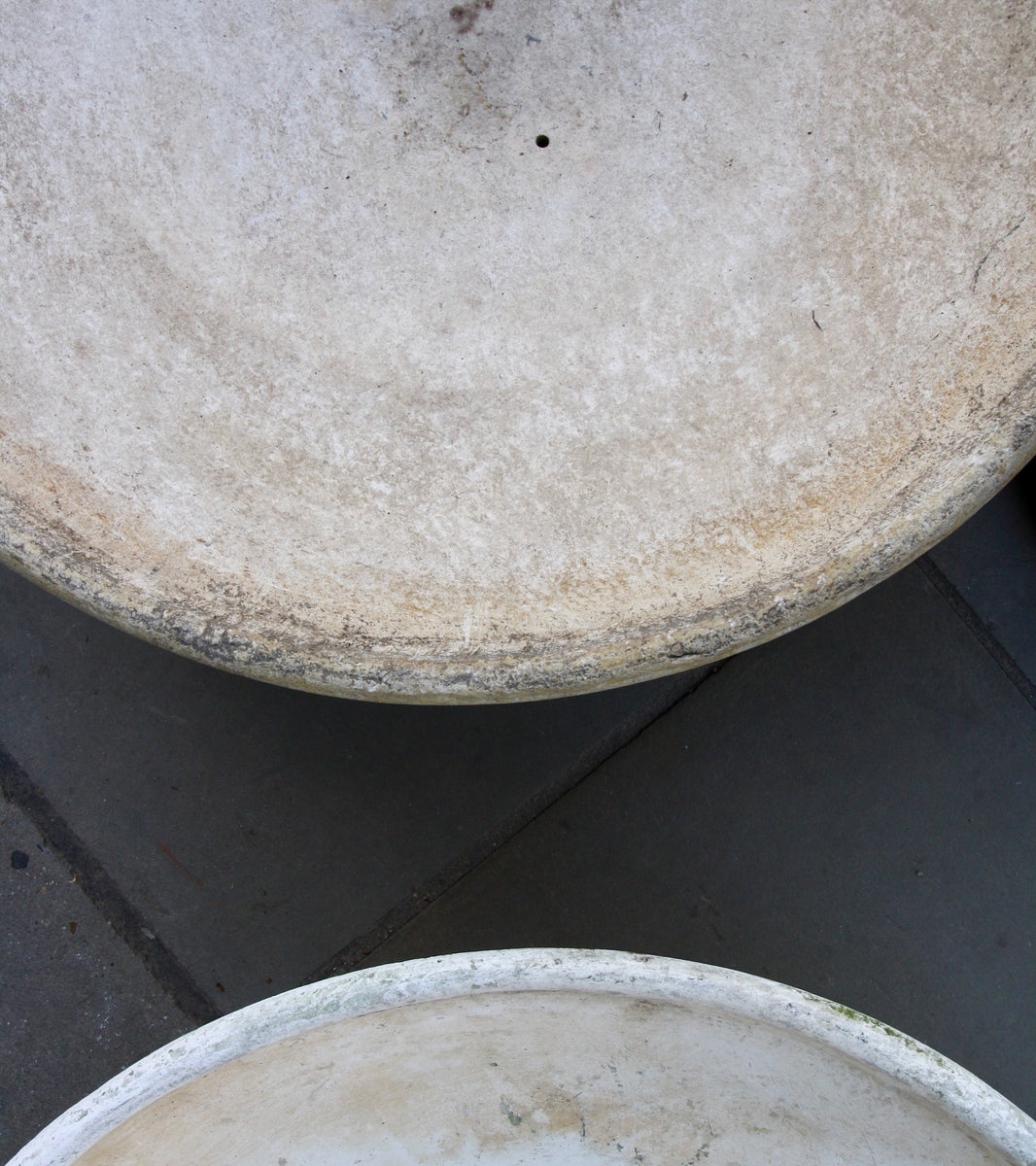 Trio of Modernist Stoneware Planters Willy Guhl - Image 6
