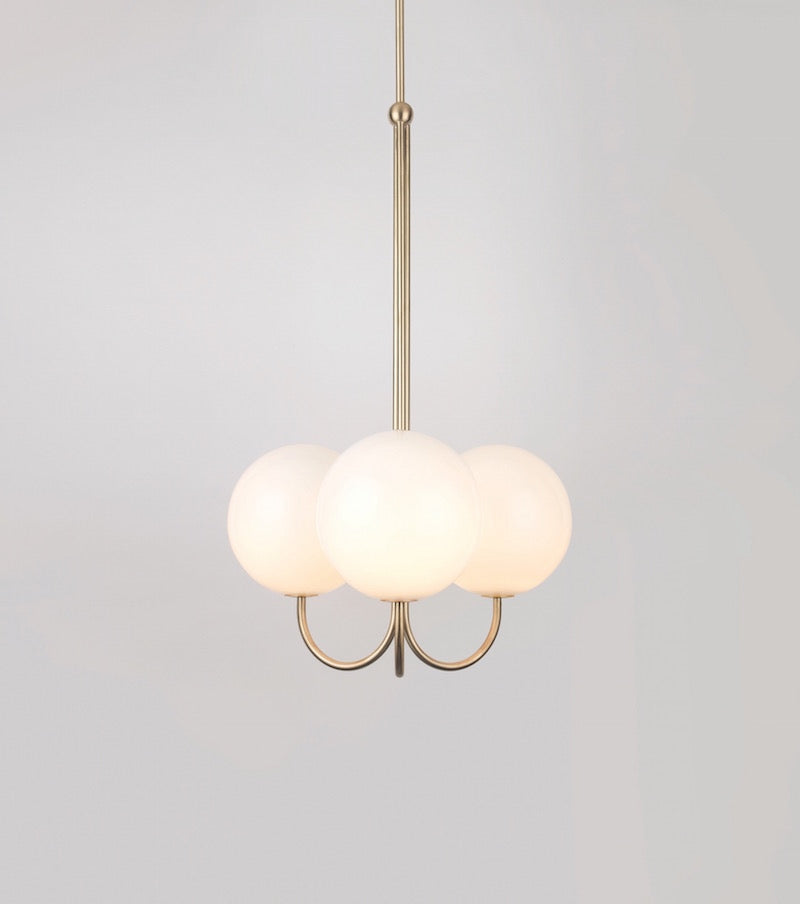 Triple AngleSatin Nickel-plated Brass Michael Anastassiades - Image 2