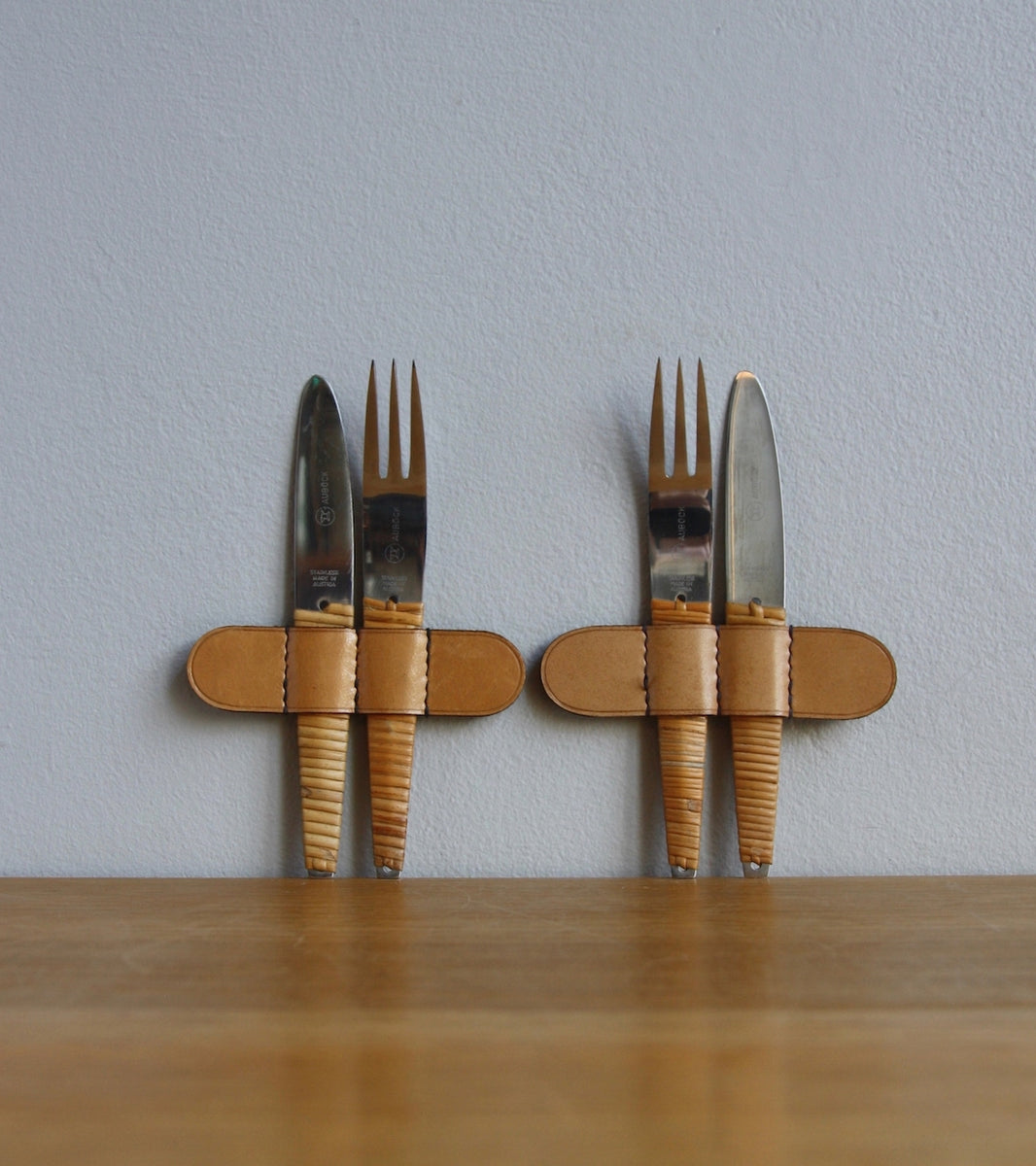 20th Century Set of Two Knives & Forks, Carl Auböck