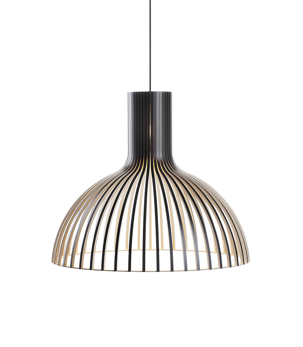 Victo 4250  Black, White, Birch Secto Design handmade contemporary lighting sustainable