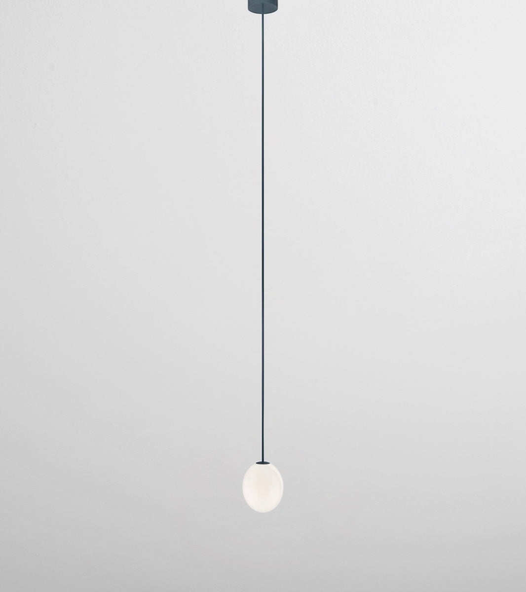 The Philosophical Egg Pendant Rod <br> by Michael Anastassiades