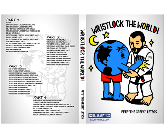 WRISTLOCK THE WORLD DVD BY PETE THE GREEK LETSOS