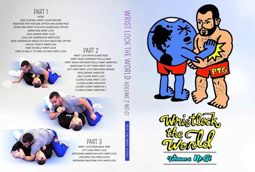 WRISTLOCK THE WORLD V.2 DVD BY PETE THE GREEK LETSOS