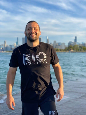 RIO JIU JITSU T Shirt - Made in the USA