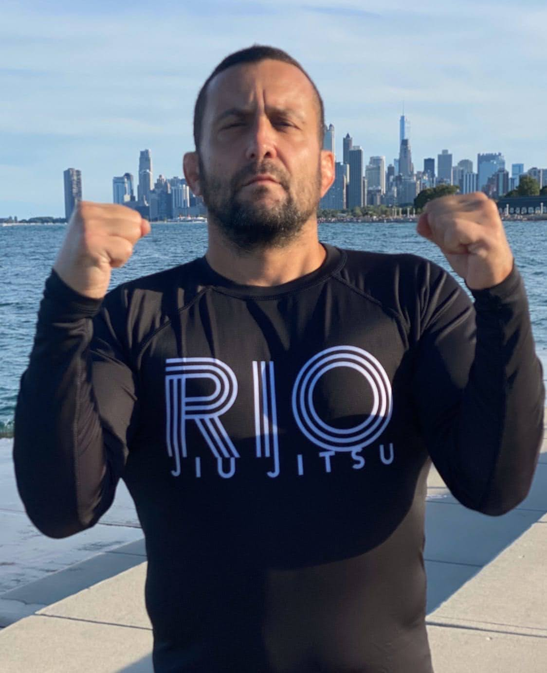 RIO JIU JITSU Rashguard - Made in the USA