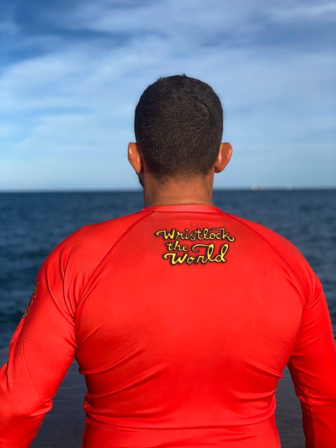 WRISTLOCK THE WORLD Rashguard - Made in the USA
