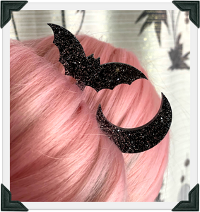 Halloween Hair Sticks by Fox & Doll