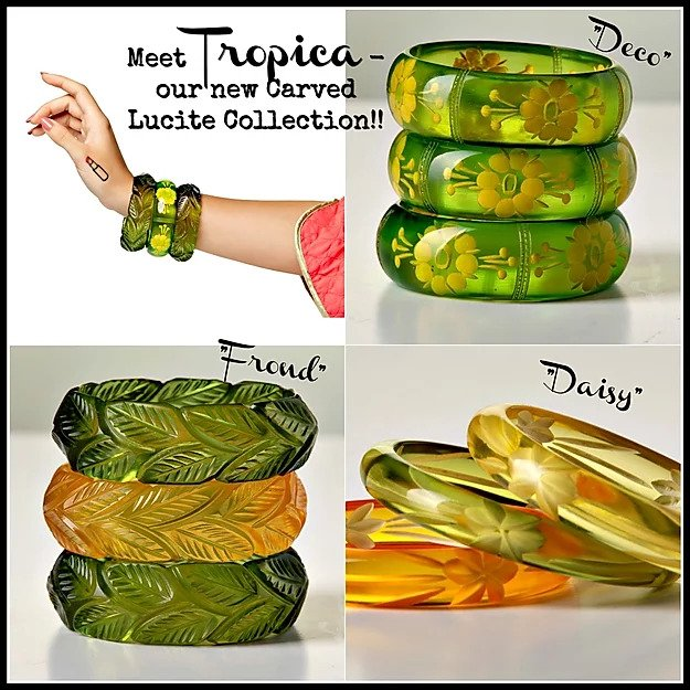 Tropica Collection - 'Deco' Cuff