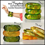 Load image into Gallery viewer, Tropica Collection - 'Deco' Cuff - luckyloushoes