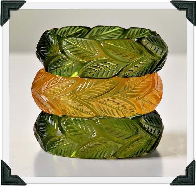 Tropica Collection - 'Frond' Cuff - luckyloushoes