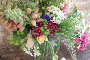 Country flowers wedding bookings