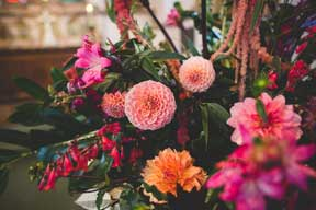 Flower farm wedding planning season