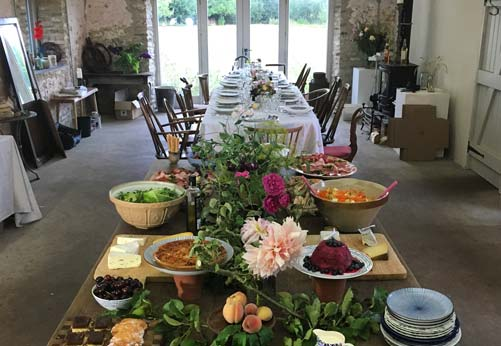 Hire our studio at Common Farm Flowers