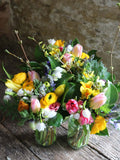 Join Georgie for this fun session, where she demonstrates making a Mothering Sunday posy.   Using seasonal, locally grown flowers, Georgie will show you how to make a sweet posy for your mama, as well as tell you a little about the history of Mothering Sunday, and show you the kind of posy which might have been made in the olden days.