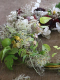 Flower farmer and florist Georgie Newbery will show you how to make a stunning autumn wreath with foraged autumn twigs and foliage, drying flowers and other garden goodies in this online workshop!