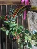 A year of flowers by post from Somerset florist - twelve seasonal hand tied bouquets from Common Farm Flowers, full of British grown, eco flowers.