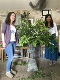 Join Somerset flower farmer and florist Georgie Newbert for a 3 day workshop, learning all about creating the perfect ecofriendly wedding flowers. From foraging for materials needed to arranging bouquets and creating installations to considering what we should charge for our services.
