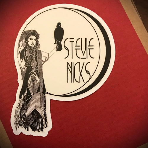 Stevie Nicks Sticker // collaboration with Maggie Bard