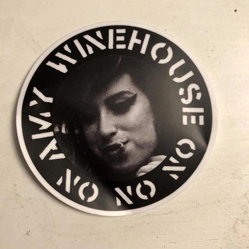 Amy Winehouse // CRASS // Sticker