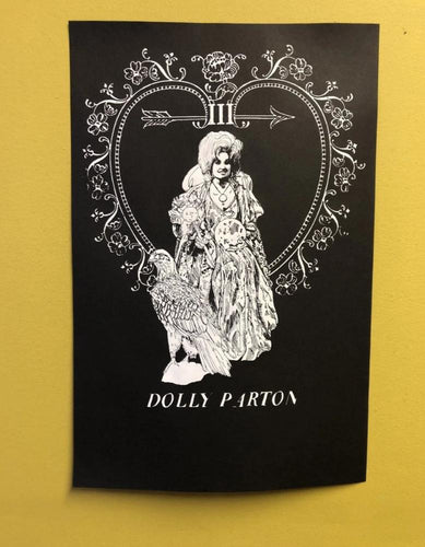 Dolly Parton // Empress Tarot Print