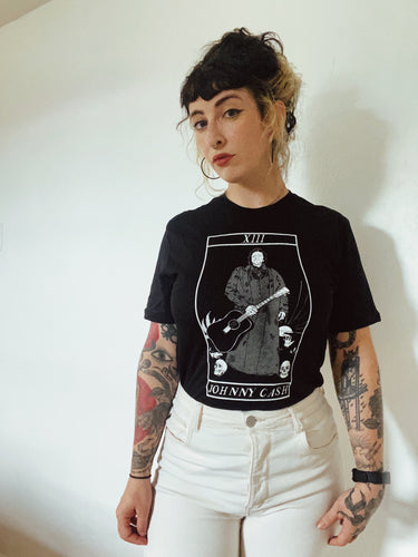 Johnny Cash // Death Tarot T-shirt