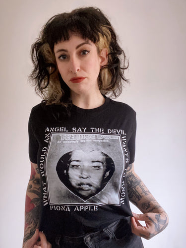 Fiona Apple // CRASS Penis Envy T-shirt