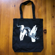 Load image into Gallery viewer, Snake handler tote bag