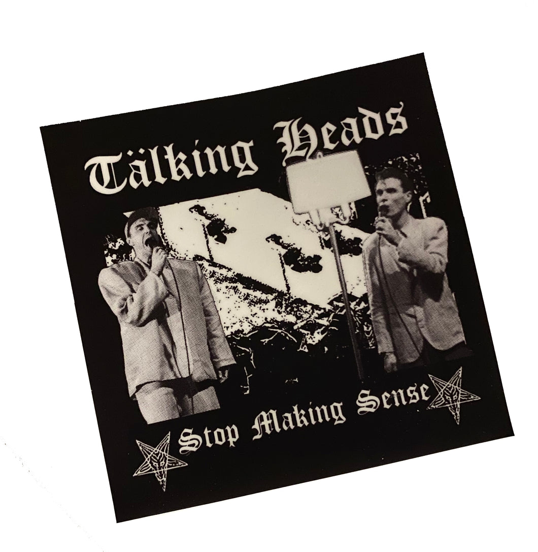 Talking Heads // Leftover Crack Sticker