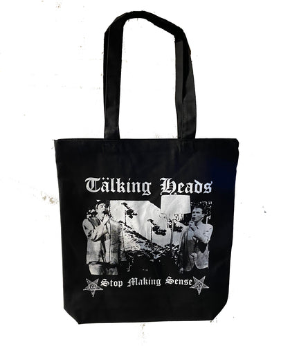 Talking Heads // Leftover Crack Tote Bag