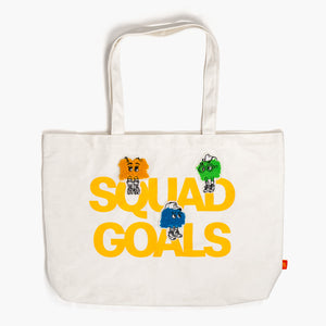 Fry Guy Squad Goals Tote Bag