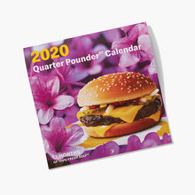 Load image into Gallery viewer, 2020 Quarter Pounder Calendar