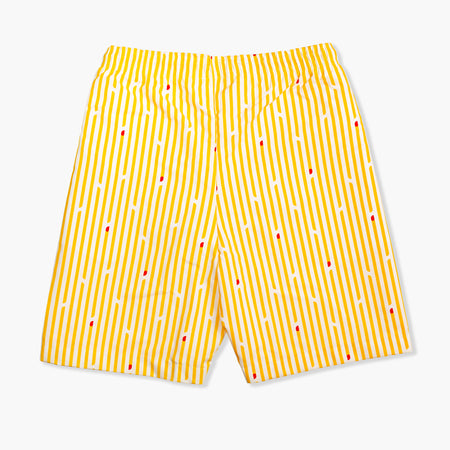 Fry Striped Swim Trunks