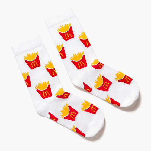 World Famous Fries Pattern Socks