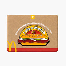 Load image into Gallery viewer, 'I Ate a McRib' Enamel Pin