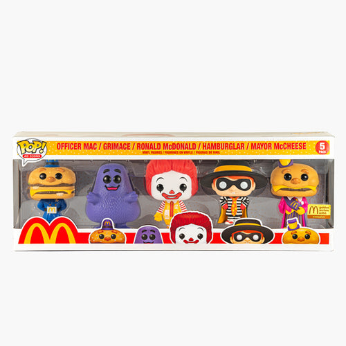 McDonald's x Funko POP Ad Icons Limited Edition 5PK