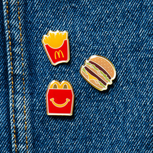 McDonald's Meal Pin Set