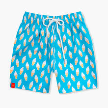 Load image into Gallery viewer, Men's Ice Cream Swim Trunks