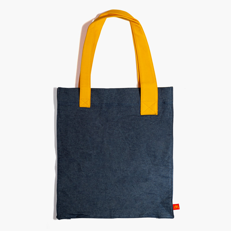 Golden Arches Denim Tote Bag