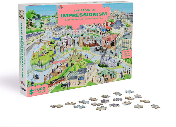 Story of Impressionism Puzzle | 1000